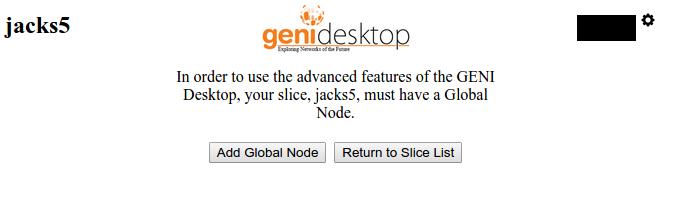 Adding Global Node