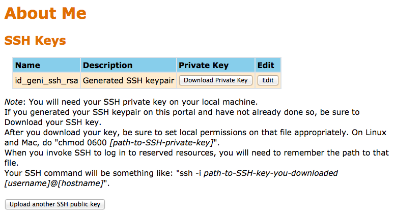 Generate an SSH Key Pair
