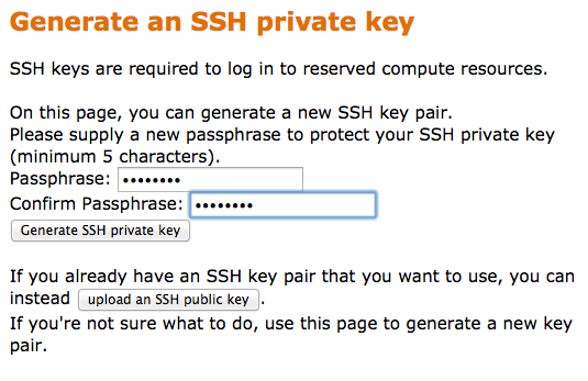 Generate an SSH Key Pair