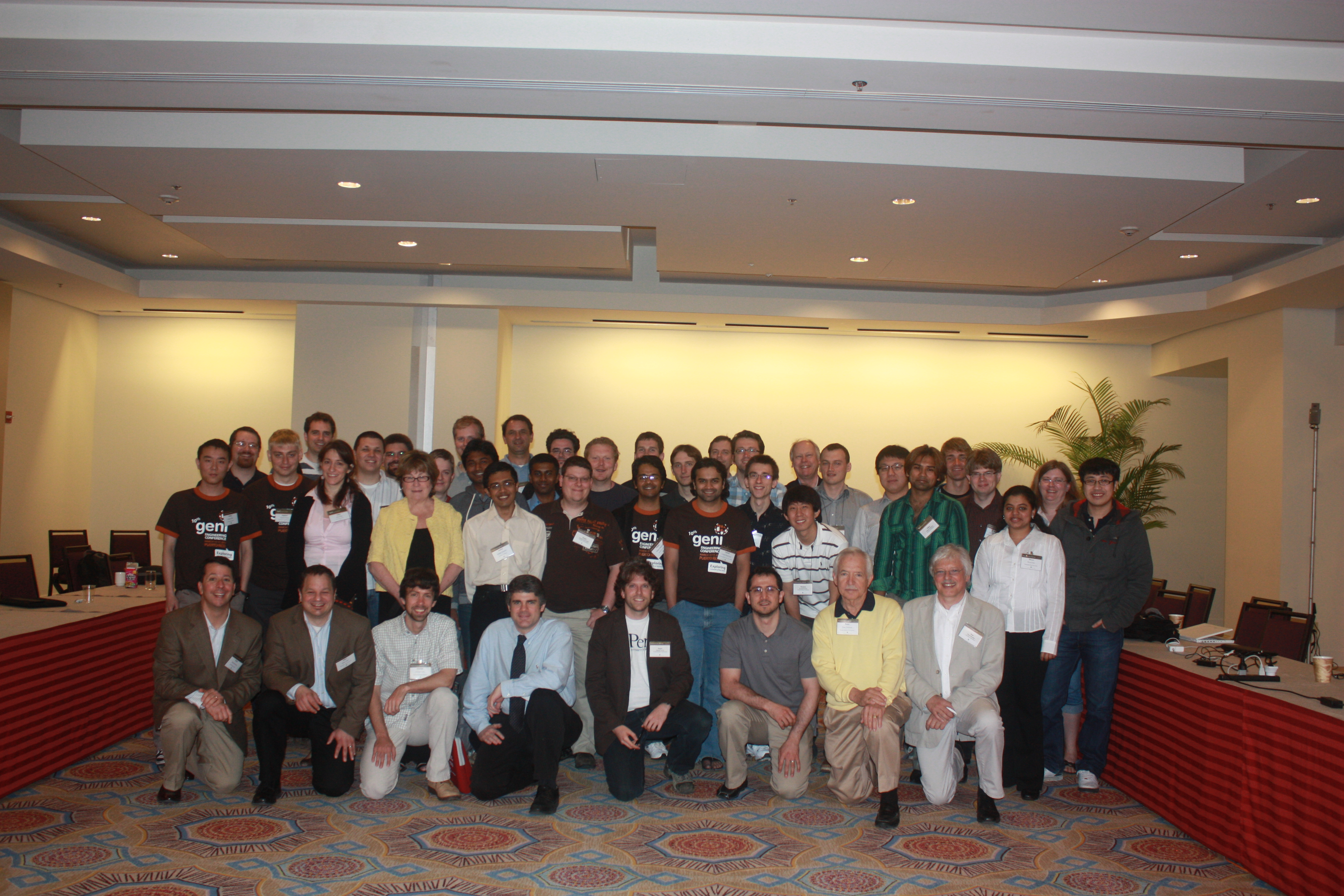 Photo of consortium attendees