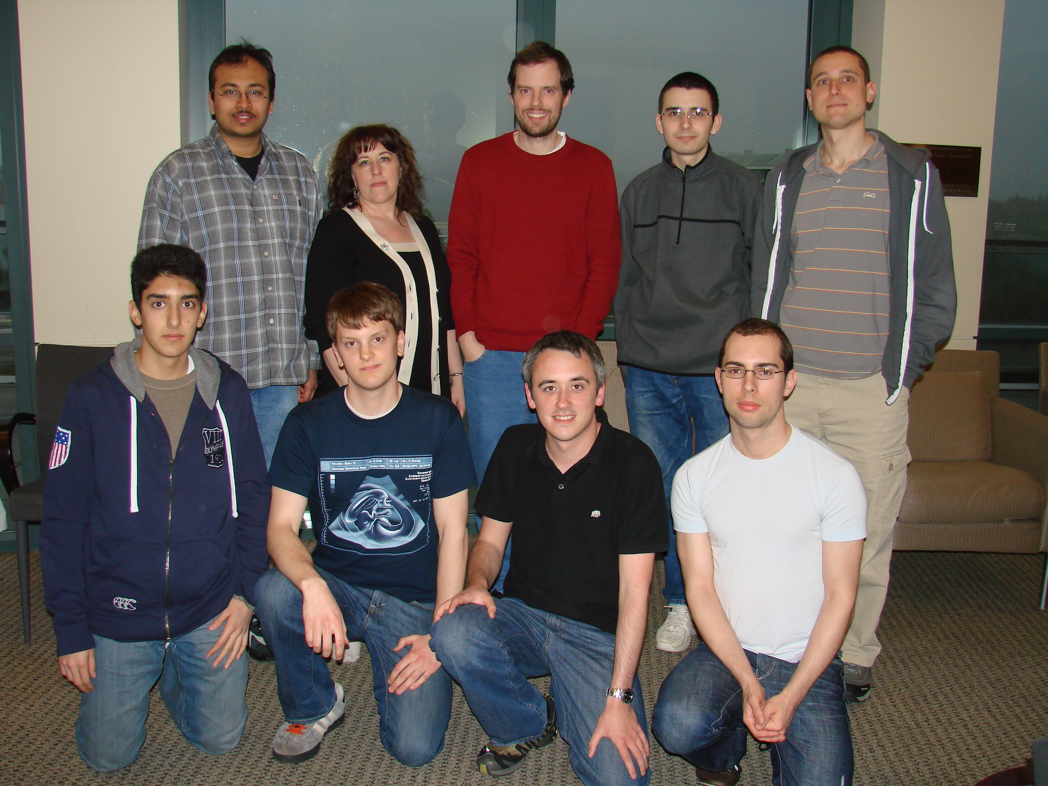 Photo of project team.