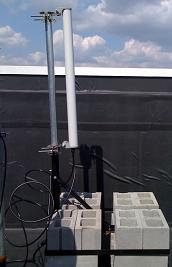Non-Penetrating Roof Antenna Mounting Example